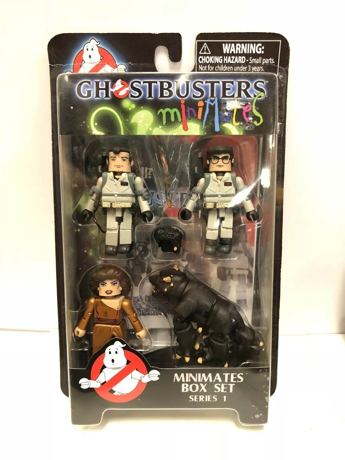 Ghostbusters Minimates Scatola Set Serie 1 Set Personaggi Diamond Select 2009