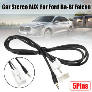 3-5mm-Car-Stereo-Radio-Aux-Adapter-Cable-Plug-For-Ford-Ba-Bf-Falcon-Territory