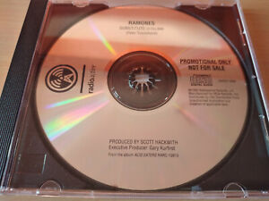 RAMONES-Substitute-Promo-CD-Punk-Rock