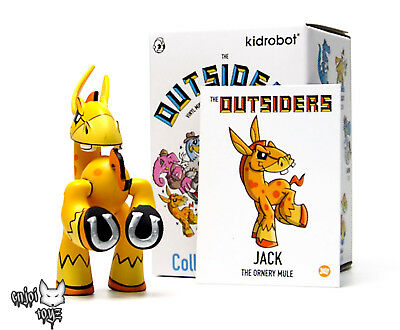 The Outsiders Vinyl Mini-Figure Series By J.Led Kidrobot Reeko