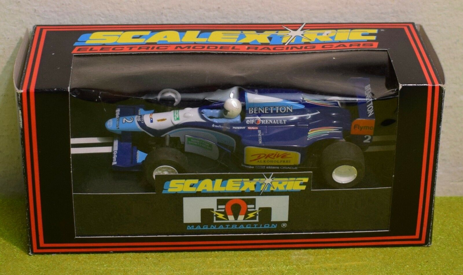 SCALEXTRIC C.237 FORD BENETTON B193 (1994) SLOT CAR