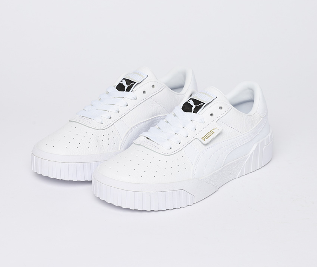 PUMA NEW Women's shoes CALI WNS 36915501 White Sneakers shoes Authentic
