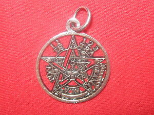 23mm silver pewter wiccan tetragrammaton pentagram star pendant image is loading 23mm silver pewter wiccan tetragrammaton pentagram star pendant mozeypictures Gallery