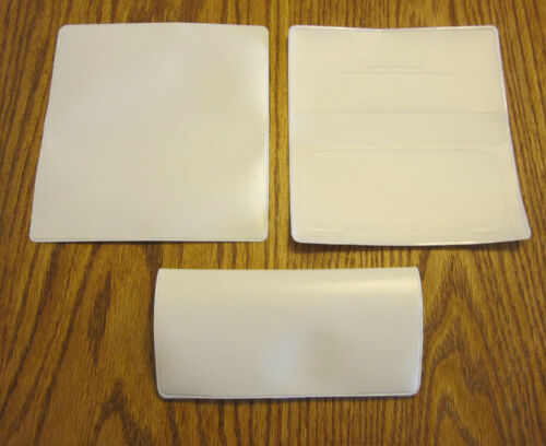 VINYL CHECKBOOK COVER WITH DUPLICATE FLAP /& CHECKBOOK TRANSACTION REGISTERS