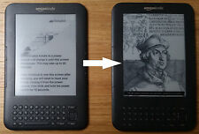 "Amazon Kindle Keyboard 6"" WiFi or 3G Screen replacement service"