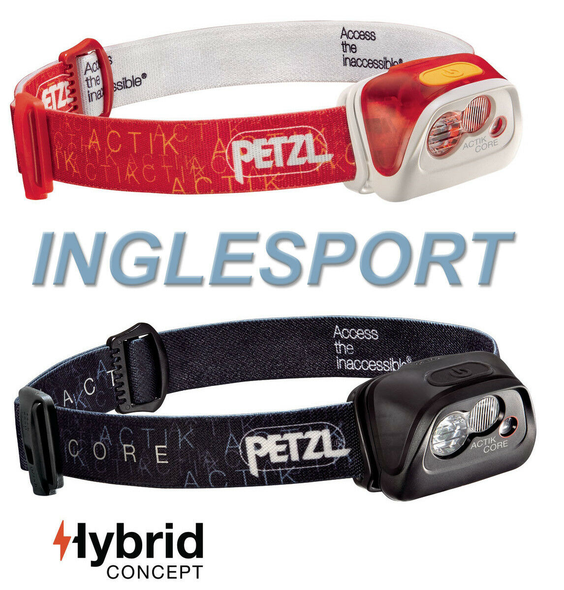 Petzl actik Core Rechargeable USB Hybride HeadTorch