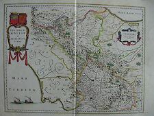 MAPPA CONTADO MOLISE 1640 ISERNIA BENEVENTO NAPOLI AVELLINO CAPUA CONZA ASCOLI