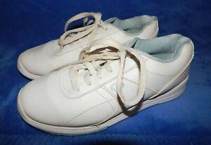 White//Blue Dexter Womens Raquel V Bowling Shoes Wide Width