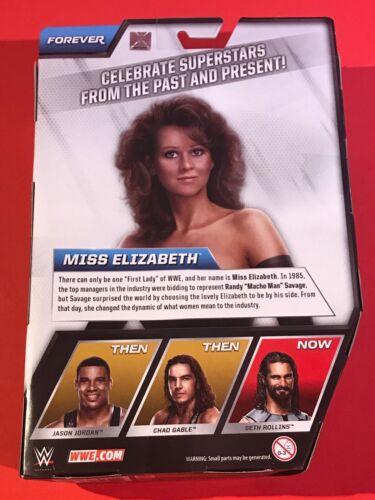Miss ELIZABETH WWE MATTEL ELITE Wrestling Figura Nuovo in Scatola NUOVO CON SCATOLA Macho Man Randy