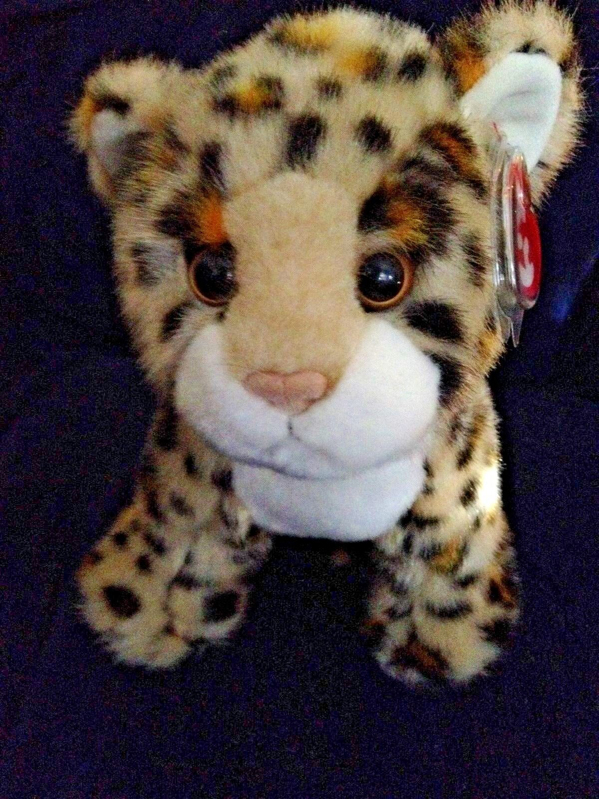 Ty Cleopatra the Leopard Cat Plush Stuffed Animal Animal Animal With Tags 4a8414