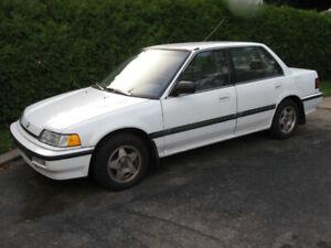 HONDA  CIVIC  1991  LX automatic