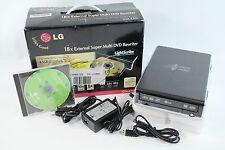 LG GSA-E30L 18X Super Multi External USB DVD Writer DVD-RW LightScribe Burner