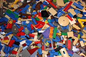 1-kg-LEGO-ca-700-800-Teile-Kiloware-Platten-Raeder-Sonderteile-Steine