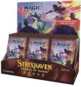 Strixhaven Set Booster Box 30 ct. NEW AND SEALED STX MTG 4/23!