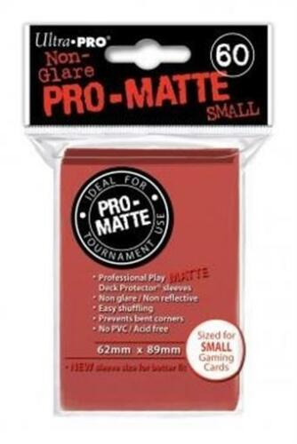 Pro Matte Small Red DPD Ultra Pro Brand New UPR84263