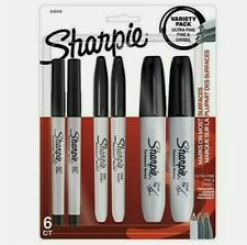 Sharpie Permanent Markers Variety Pack Featuring Fine Ultra Fine And Chisel New