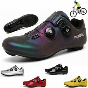 Ultralight City Road Cycling Shoes Self-Locking SPD Pedal Bike Bicycle Sneakers