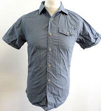 883 Police Mens Colton Shirt Flint Blue Small rrp £40 BOX7203 G
