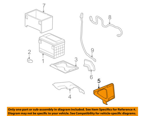 GM OEM-Battery Tray Support 10399558