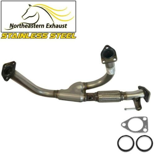 1999-2001 Odyssey Stainless Steel Flex YPipe Exhaust Front Pipe fits