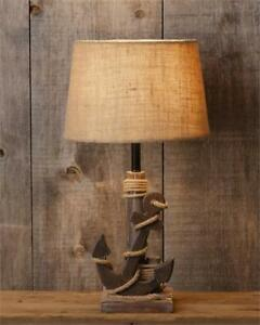 Good Image Is Loading New Rustic Beach House Cottage ANCHOR LAMP Electric