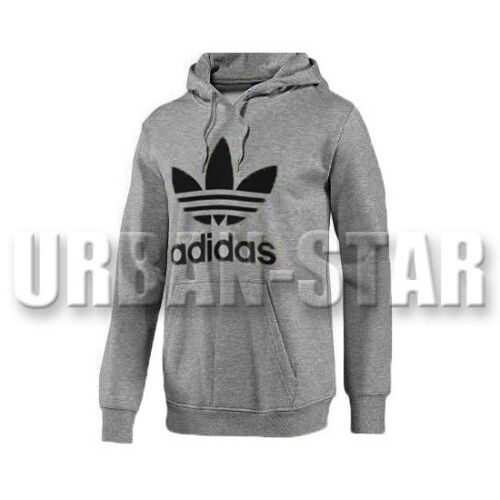 M XL S L Adidas Originals Mens Trefoil Fleece Top Casual Hoody Mens