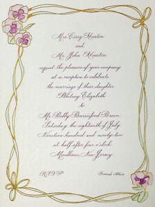 image is loading whitney houston amp bobby brown wedding invite - Wedding Invitations Houston