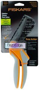 Fiskars-RazorEdge-Easy-Action-8-034-Fabrics-Shears-Tabletop-Cutting-Scissors-9085