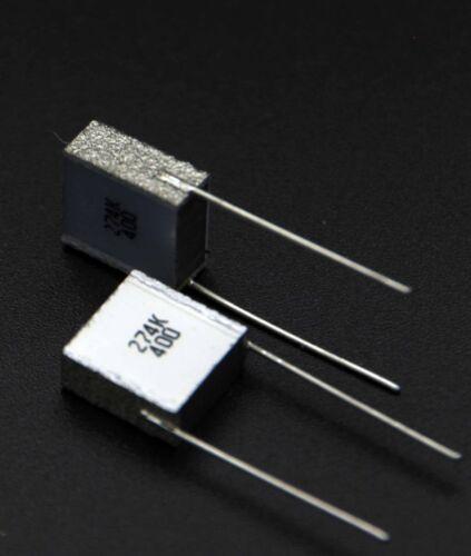 5 pcs // 1 lot 270nF // 0.27uF 400VDC Genuine Siemens EPCOS Silver Cap