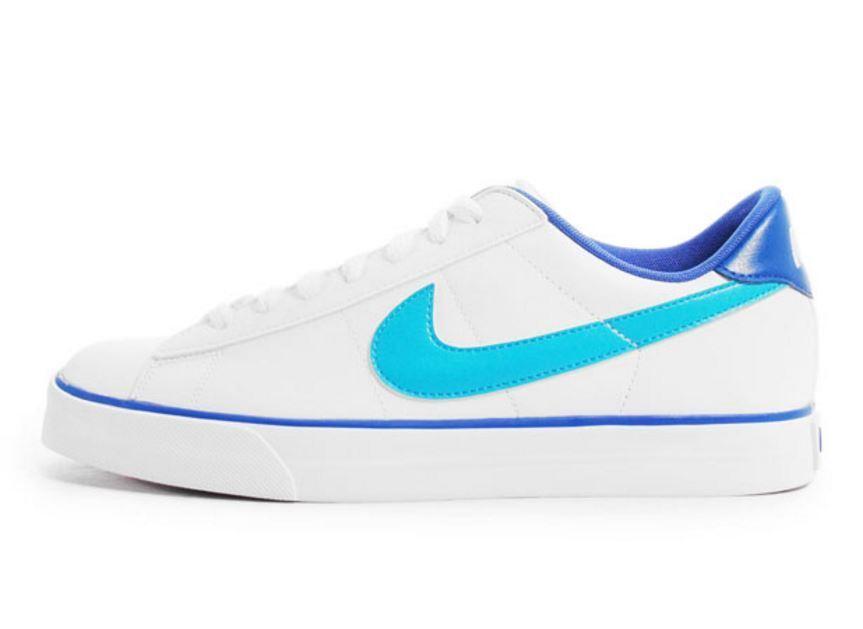 Nike dolce classico cuoio uomini scarpe bianche 318333-164 - 13 nave veloce k