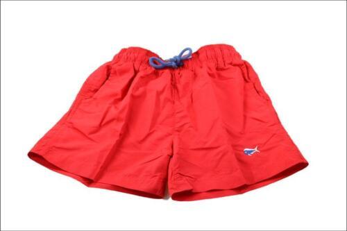 Southern Lure Swim Trunks Red//Green//Seafoam XL size big boys L