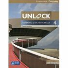 Unlock Level 4 Listening and Speaking Skills Student's Book and Online Workbook by Lewis Lansford (Mixed media product, 2014)