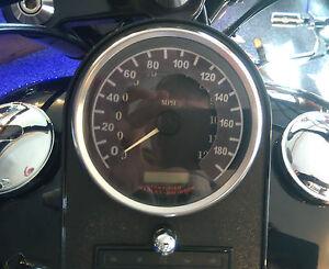 Harley-Davidson-KM-Km-h-Tachoaufkleber-Sportster-Electra-Glide-Fat-Boy-all-Bj