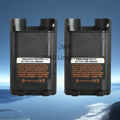 FNB-V87 Li-ion Battery For Vertex Standard VX600 VX820 VX821 VX824 Two Way Radio