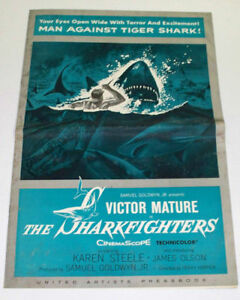 THE-SHARKFIGHTERS-1956-Movie-PRESSBOOK-Victor-Mature