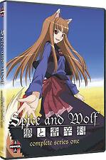 Spice And Wolf . The Complete Season One . 1. Staffel . Anime .. 2 DVD . NEU OVP