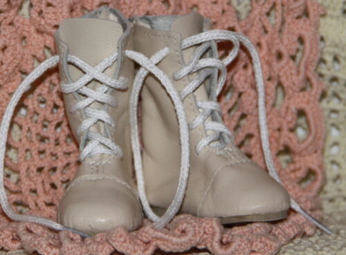 Jasmines Cottage Tomecia Ivory Leather BJD Boot MSD 63mm fits Wiggs & Lasher