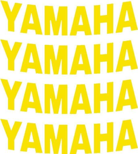 MORE in  SHOP x4 Yamaha wheel graphics Stickers for wheel rims pick colour