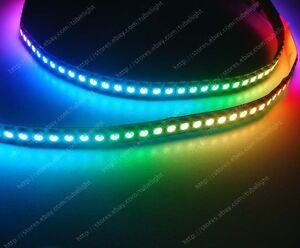 1M WS2812B 144 LEDs White PCB Digital Pixel Individually Addressable Led strip