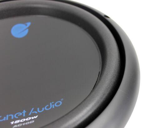 """2 PLANET AUDIO AC10D 10/"""" 3000W Dual 4Ohm Voice Coil Car Stereo Audio Subwoofers"""