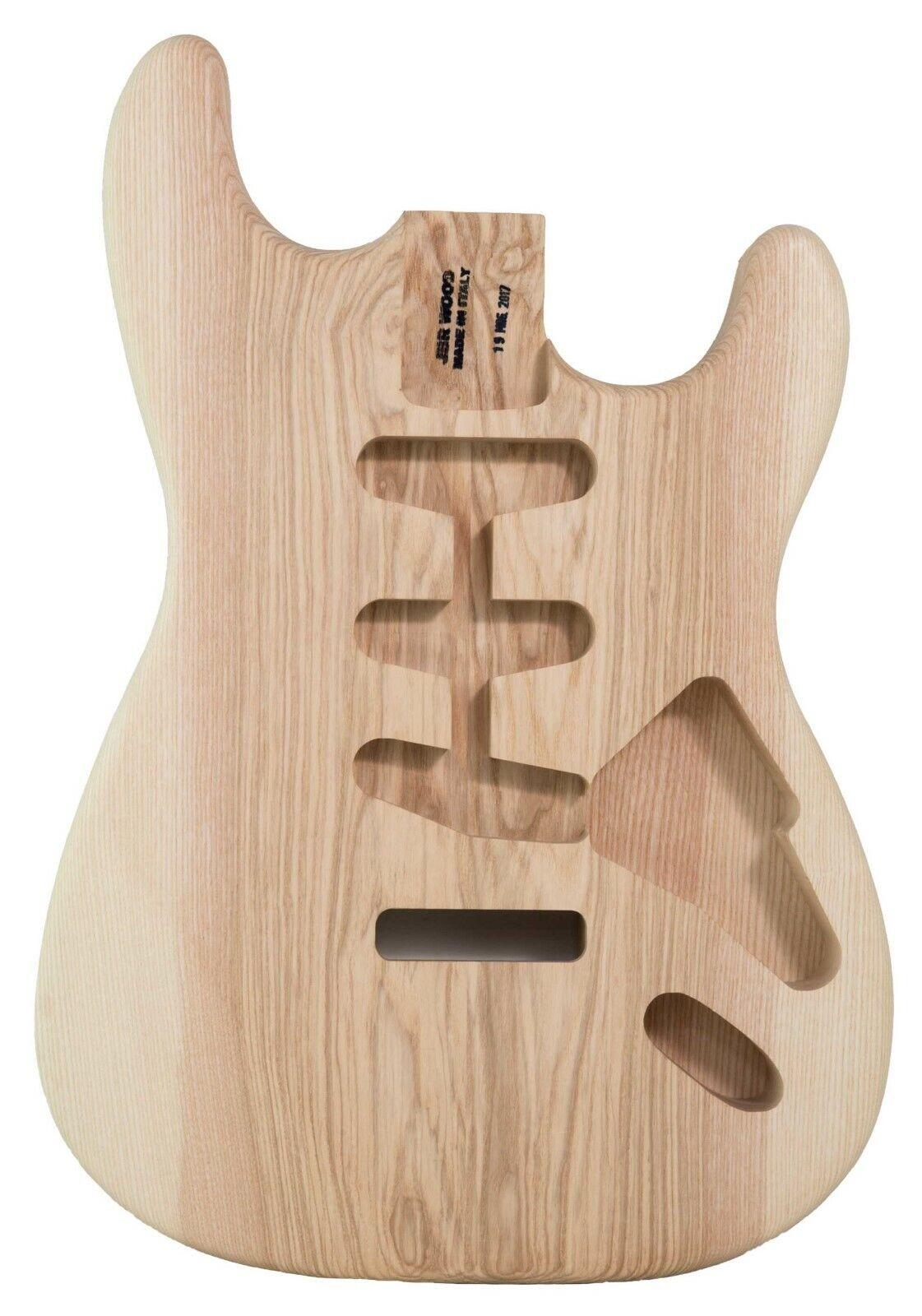 Body Body Model Stratocaster Ash Olivato