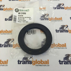 Hub Oil Seal for Land Rover Series 2 & 3 upto 1980 OEM - RTC3510