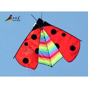 New-1-5m-59-In-Ladybug-kite-Outdoor-fun-Sports-Children-039-s-toys-animal-Delta-kite