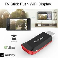 Airplay Miracast DLNA MEDIA PLAYER TV STICK PUSH GOOGLE CHROMECAST DONGLE MAC