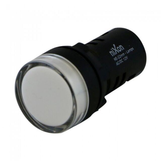 240V AC - White Lamp - 22mm Free Shipping