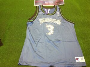 Image is loading vtg-90s-champion-Minnesota-timberwolves-marbury-basketball- shirt- 77161cf15