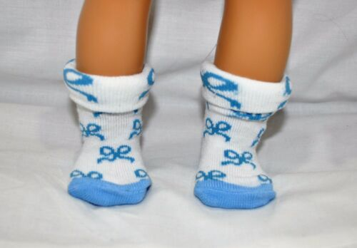 """Fits Our Generation American Girl Doll Journey 18/"""" Doll Socks Dolls Clothes"""