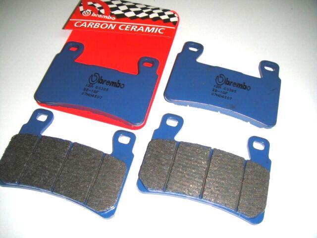 4 Pastillas de Freno Delantero Brembo 07HO4507 Honda VTR 1000 SP1 RC51 2000