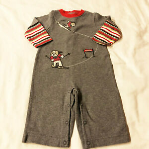 NWT Baby Boys Gymboree Christmas Elf Suit 0-3 OR 3-6 Months One-Piece Romper