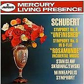 Schubert/Minnesota Orc/Skrowaczewski Schubert (Unfinished)/Fifth Symphony [Eu